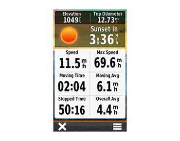 Garmin Oregon 650 navigation device
