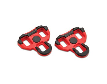 Garmin cleats for Vector pedals red