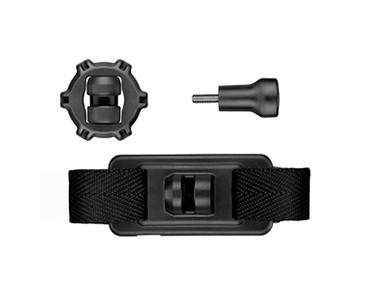 Garmin bracket for VIRB action camera for helmets with vents