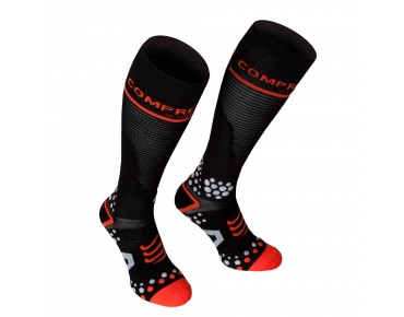 COMPRESSPORT V2 FULL 3D DOT compression socks black