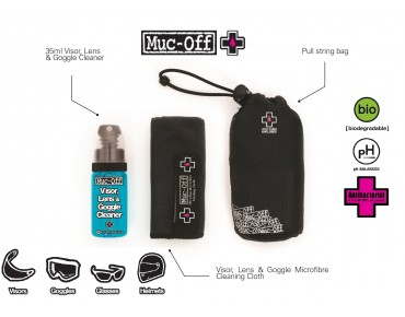 Muc-Off Visor, Lens & Goggle Cleaning Kit Reinigungsset