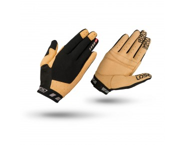 GripGrab VERTICAL full finger gloves black/tan