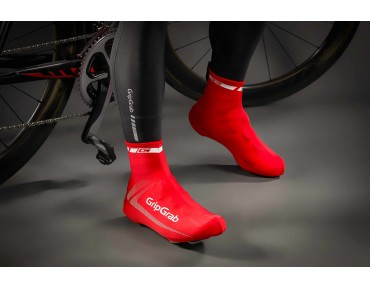 GripGrab RACE AERO overshoes red