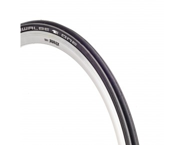 Schwalbe ONE V-Guard road tyre, folding tyre black/white