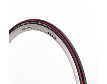 Schwalbe ONE V-Guard road tyre, folding tyre black/red