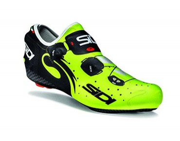 SIDI WIRE overshoes black/yellow fluo