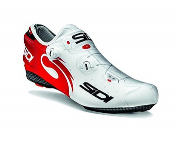 SIDI WIRE overshoes white/red