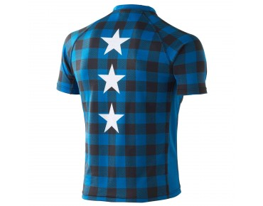 Deputy Sheriff LUMBERJACK bike shirt blue