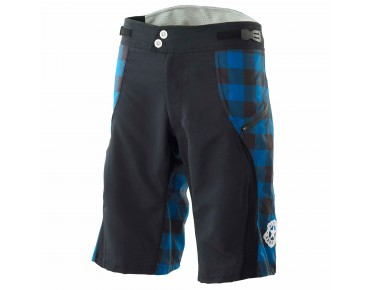 Deputy Sheriff LUMBERJACK bike shorts black/blue