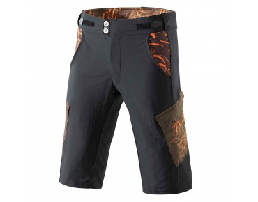 Deputy Sheriff WANTED bike shorts black/brown