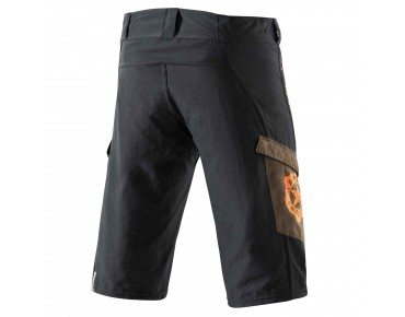 Deputy Sheriff WANTED Bikeshorts black/brown