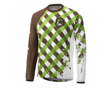Deputy Sheriff WOODPECKER bike shirt green
