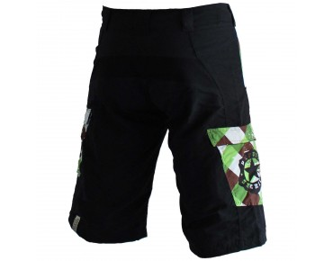 Deputy Sheriff WOODPECKER bike shorts black/green
