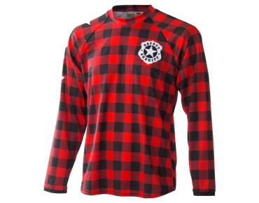 Deputy Sheriff FLY LIKE AN EAGLE - maglia maniche lunghe red