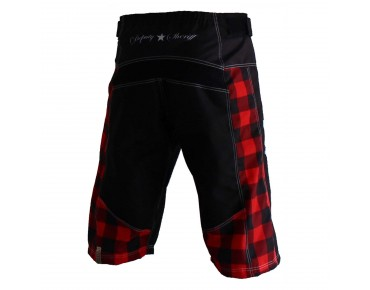 Deputy Sheriff FLY LIKE AN EAGLE bike shorts black/red