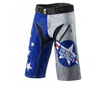 Deputy Sheriff AIR FORCE ONE bike shorts blue/grey