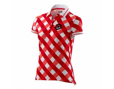 Deputy Sheriff ST. MORITZ polo shirt red