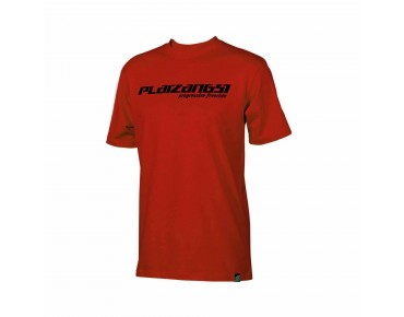 PLATZANGST LOGO T-Shirt red