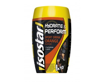 Isostar Hydrate & Perform Drink powder orange