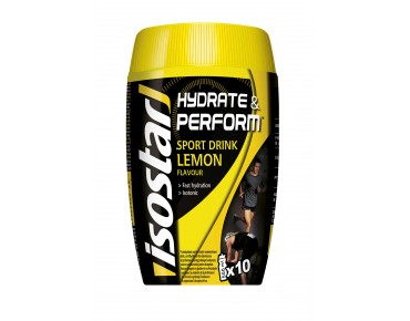 Isostar Hydrate & Perform Drink powder lemon
