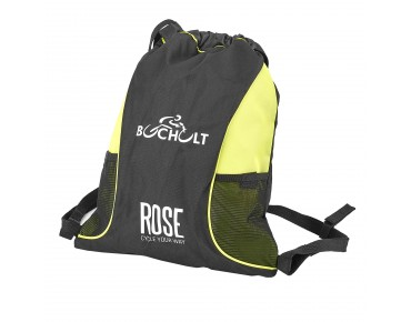ROSE gym bag - BOCHOLT black/lime