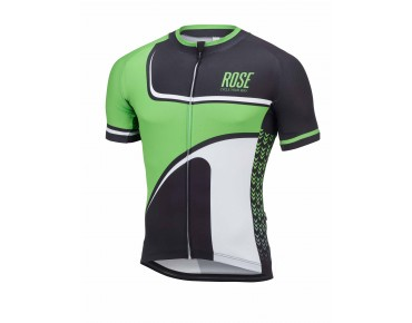 ROSE RETRO jersey green/black/white