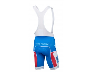 ROSE RETRO koersbroek blue/white/red