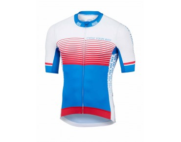 ROSE HIGH END Trikot blue/white/red