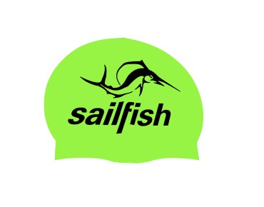 sailfish Silikon Cap swimming cap grün