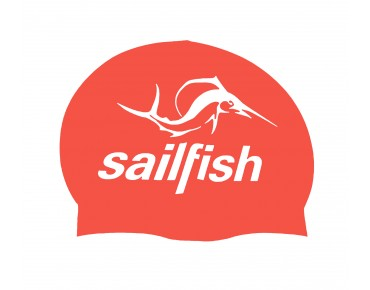 sailfish Silikon Cap Badekappe orange