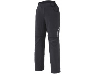 SHIMANO TOURING zip-off trousers black