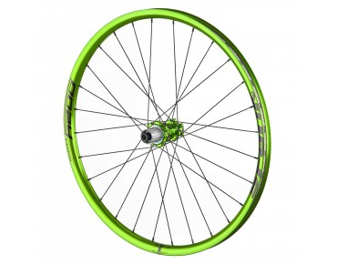 Spank Oozy Trail 295 Bead Bite Disc MTB-wielset emerald green