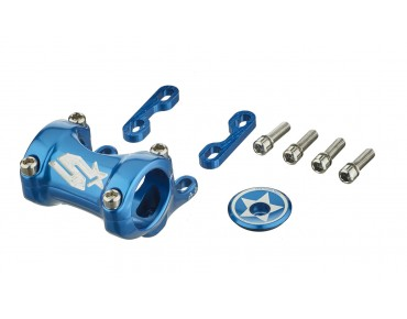 Spank Spike 25/30 DM DirectMount stem blue