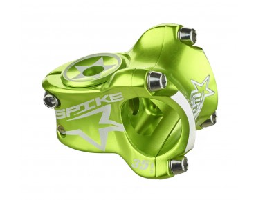 Spank Spike Race stem emerald green