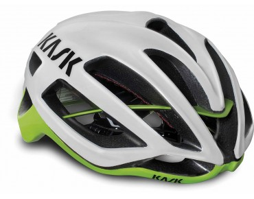 KASK PROTONE road helmet white/lime