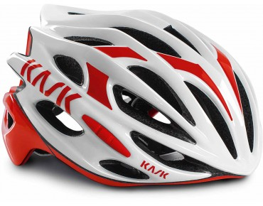 KASK MOJITO road helmet white/red