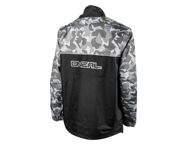 O´NEAL SHORE RAIN II waterproof jacket black