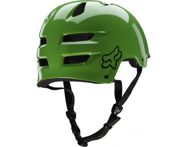FOX TRANSITION dirt helmet green