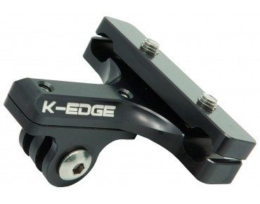 K-Edge GO BIG PRO GoPro® Hero saddle rail mount schwarz