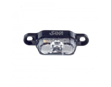 SON carrier back light black/clear lens