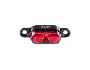 SON carrier back light black/red lens