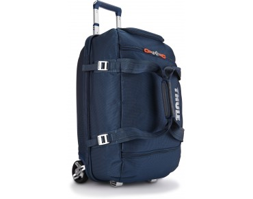 Thule Crossover 56L Rolling Duffel travel bag blue