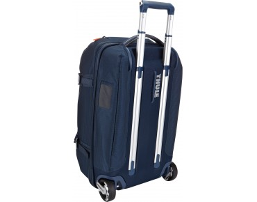 Thule Crossover 56L Rolling Duffel travel bag blau