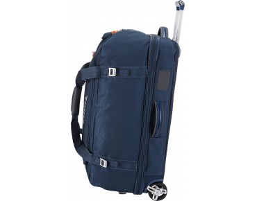 Thule Crossover 87L Rolling Duffel travel bag blue