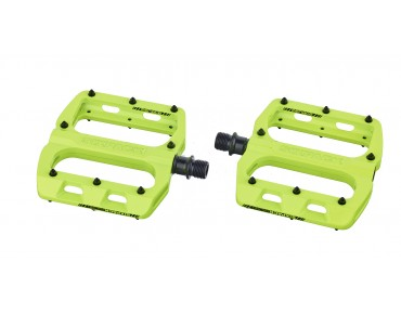 Sixpack Menace 2.0 pedals day-glo yellow