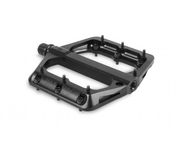 Sixpack Millenium magnesium pedal with CroMo axle stealth black