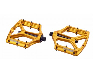 Sixpack Skywalker-2 Pedal mit CroMo-Achse nugget gold