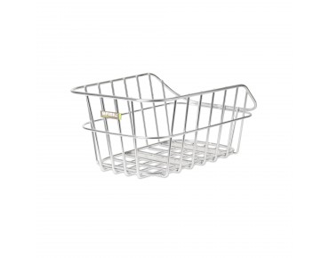 BASIL CENTO ALU rear bicycle basket aluminium
