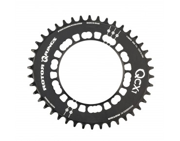 Rotor Q Rings Cyclocross CX1 chainring black