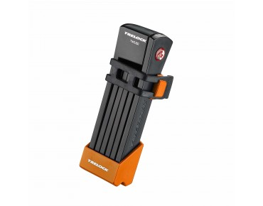 Trelock FS 200 Two.Go folding lock orange
